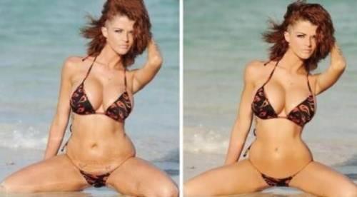 голые знаменитости фото до и после