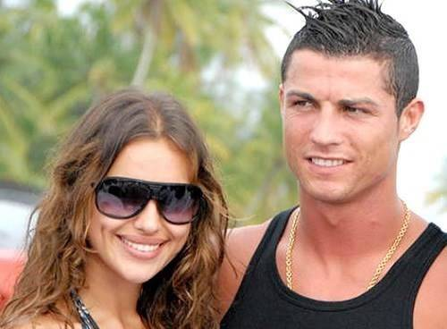 EXCLUSIVE: Cristiano Ronaldo and Irina Shayk pose for pictures while on vacation in the Maldives