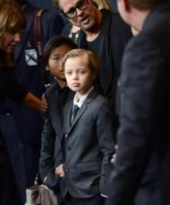 дочь Анджелины Джоли