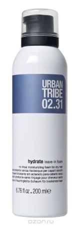 Купить URBAN TRIBE Увлажняющая пена для сухих волос без смывания 200 мл.