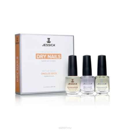 Купить Jessica Набор для сухих ногтей Dry Nail Kit (Mini) Kit (Rejuvenation + Brilliance + Phenomen Oil)