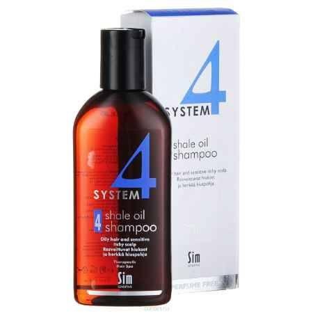Купить SIM SENSITIVE Терапевтический шампунь № 4 SYSTEM 4 Shale Oil Shampoo 4 , 215 мл
