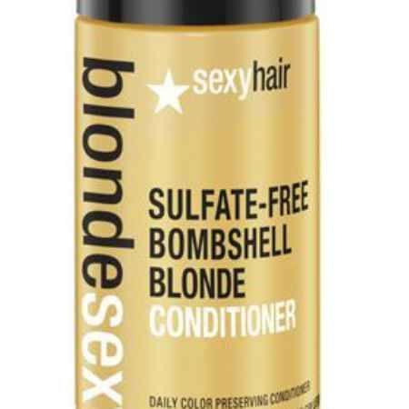 Купить Sexy Hair Кондиционер для сохранения цвета без сульфатов, BLSH Bombshell Blonde Conditioner, 50 мл