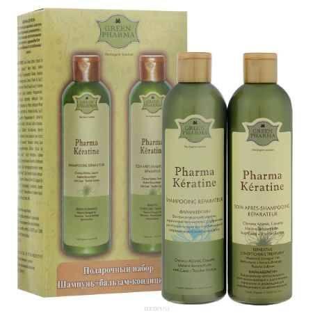Купить Greenpharma Подарочный набор №1: шампунь