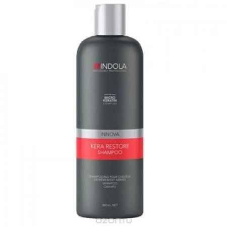 Купить Indola Кератиновое восстановление шампунь Keratin Restore Shampoo – 300 мл