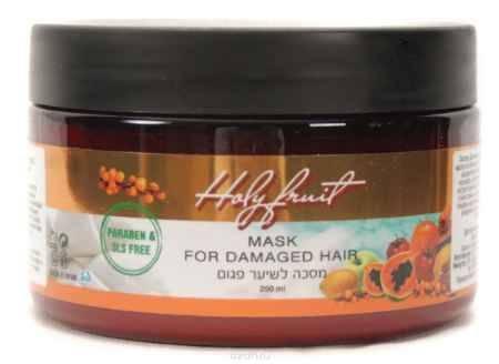 Купить Holy Fruit Маска для поврежденных волос (орех макадамия-облепиха) Mask for damaged hair, 250 мл