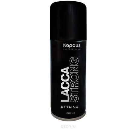 Купить Kapous Professional Лак аэрозольный для волос сильной фиксации 100 мл