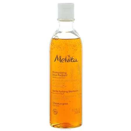 Купить Melvita Нежный очищающий шампунь для жирных волос Лимон и Розмарин, 200 мл