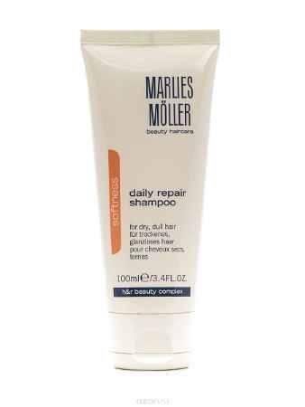 Купить Marlies Moller Softness Ежедневный восстанавливающий обогащенный шампунь, 100 мл