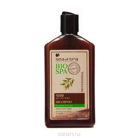 Купить Sea of Spa Шампунь для норм/сухих волос с маслом Жожоба и Оливы, 400 мл