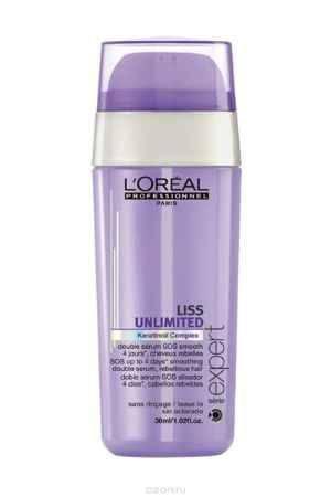 Купить L'Oreal Professionnel Liss Unlimited – SOS-сыворотка двойного действия 30 мл