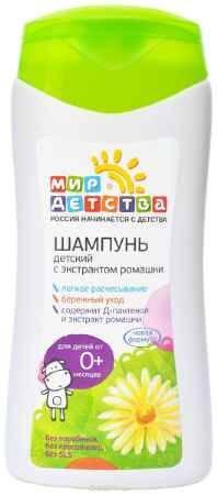 Купить Мир детства Шампунь Детский с экстрактом ромашки 200 мл