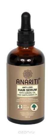 Купить Anariti сыворотка против выпадения волос с маслом каранджи и маслом дикого шафрана,100 г