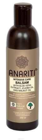 Купить Anariti бальзам-кондиционер интенсивно увлажняющий с экстрактом алоэ вера, маслом жожоба и маслом грецкого ореха,250 г