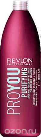 Купить Revlon Professional Pro You Шампунь для волос очищающий Purifying Shampoo 1000 мл