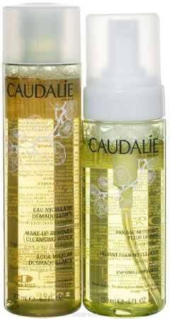 Купить Caudalie Набор очищение Cleanser & Toners : Очищаюший мусс 150 мл + Мицеллярная вода для снятия макияжа 200 мл