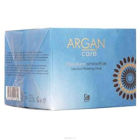 Купить SIM SENSITIVE Интенсивно увлажняющая маска для волос Argan Care Moisture Smoothie Intens.Hydrating Mask Мойсче Смуфи 300 мл