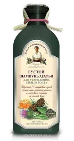 Купить Рецепты бабушки Агафьи шампунь Густой Агафьи для укрепления, силы и роста 350 мл