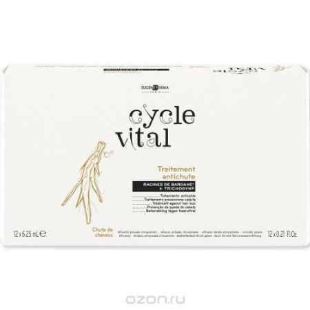 Купить Eugene Perma Traitment Antichute Средство против выпадения волоc Cycle Vital Croissance 12*6,25 мл