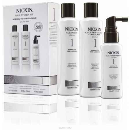 Купить Nioxin System Набор (Система 1) 1 Kit 150 мл+150 мл+50 мл
