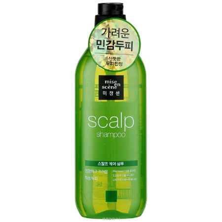 Купить Mise en Scene Шампунь для волос Style Green Scalp Care, 530 мл
