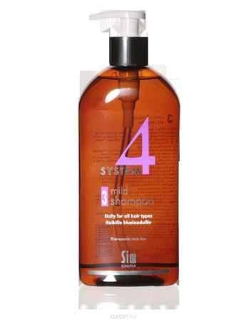 Купить SIM SENSITIVE Терапевтический шампунь №3 SYSTEM 4 Mild Climbazole Shampoo 3 , 500 мл