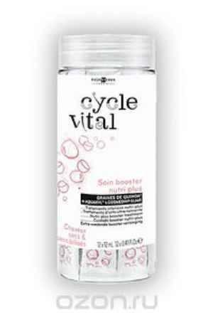 Купить Eugene Perma Бустер восстанавливающий для поврежденных волос Cycle Vital Nutri-Plus 12 сашет по 12 мл