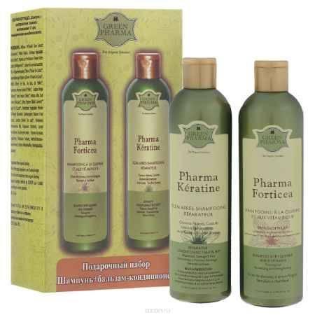Купить Greenpharma Подарочный набор №2: шампунь