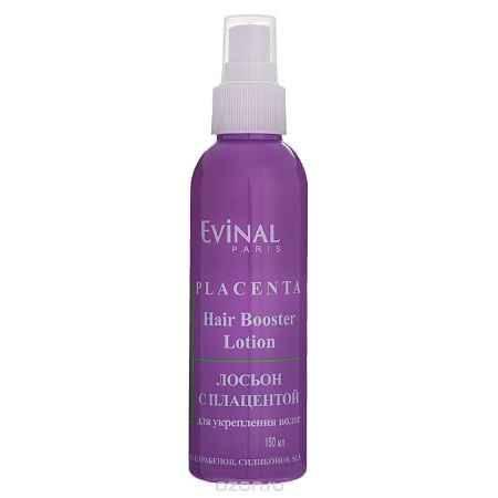 Купить Evinal Лосьон с экстрактом плаценты, для укрепления волос, 150 мл