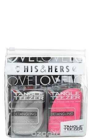 Купить Tangle Teezer Набор расчесок для волос Compact Styler His&Hers
