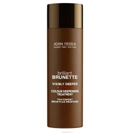 Купить John Frieda Средство для создания насыщенного и глубокого цвета темных волос Brilliant Brunette VISIBLY DEEPER 150 мл