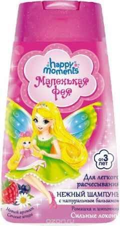 Купить Маленькая Фея Детский шампунь Сильные локоны 240 мл