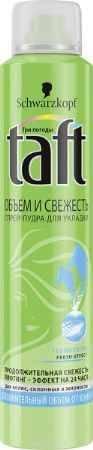 Купить TAFT CLASSIC Спрей-пудра Volume Fresh экстрасильная фиксация, 150 мл