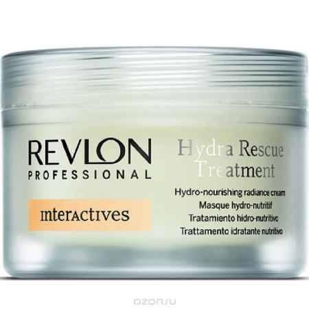Купить Revlon Professional Interactives Крем для блеска волос увлажняющий и питающий Hydra Rescue Treatment 200 мл