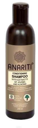 Купить Anariti шампунь кондиционирующий с экстрактами жожоба и миндаля, 250 г