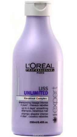 Купить L'Oreal Professionnel Liss Unlimited – Шампунь для непослушных волос 250 мл
