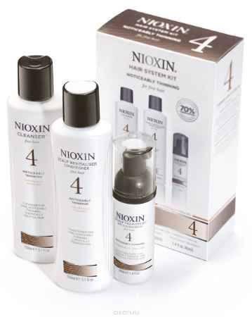 Купить Nioxin System Набор (Система 4) 4 Kit 150 мл+150 мл+40 мл
