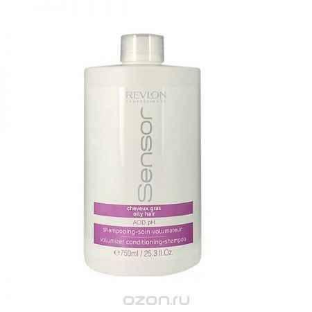 Купить Revlon Sensor Шампунь-кондиционер для придания объема для волос склонных к жирности (Сиреневый) Volumizer Conditioning-Shampoo 750 мл
