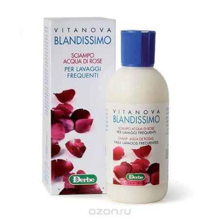 Купить Derbe Шампунь с розовой водой для тонких и жирных волос, 200 мл