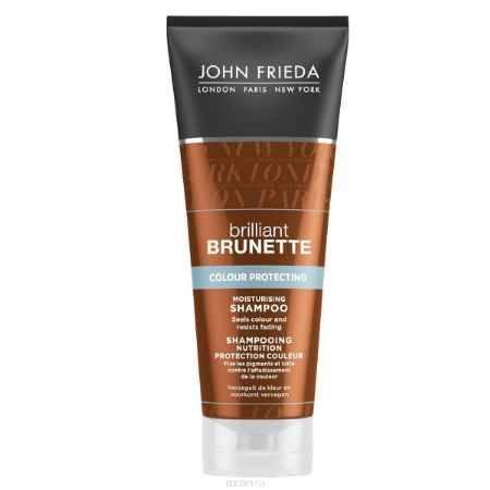 Купить John Frieda Увлажняющий шампунь для защиты цвета темных волос Brilliant Brunette COLOUR PROTECTING 250 мл