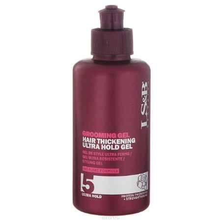 Купить Lock Stock & Barrel Груминг гель с эффектом утолщения волос Grooming Gel Ultra Hold Gel 150 мл