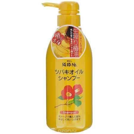 Купить Kurobara Шампунь с маслом камелии японской, для поврежденных волос, 500 мл