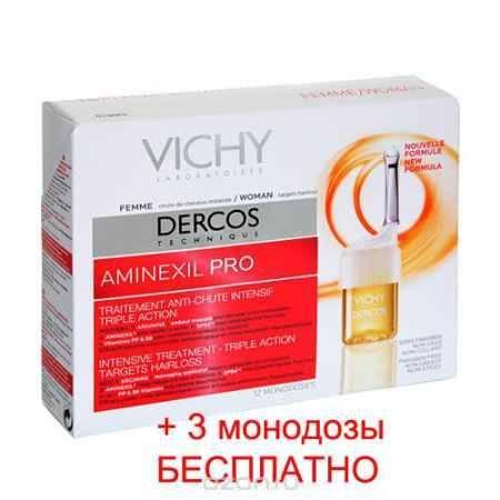 Купить Vichy Интенсивное средство против выпадения волос для женщин