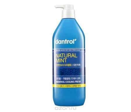Купить Dantrol Шампунь для волос Natural Mint, 530 мл