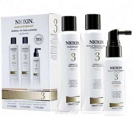 Купить Nioxin System Набор (Система 3) 3 Kit 150 мл+150 мл+40 мл