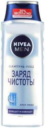 Купить NIVEA Шампунь для мужчин Заряд чистоты 400мл