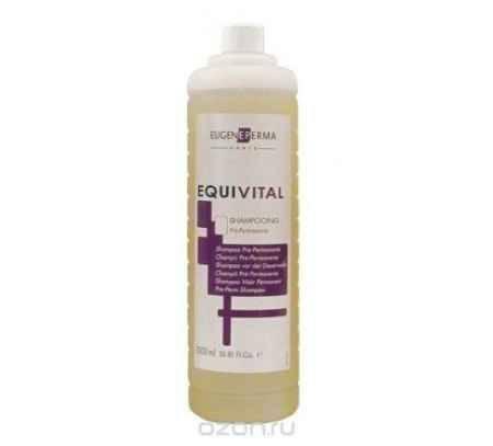 Купить Eugene Perma Pre-Perm Shampoo Equivital - Шампунь перед химической завивкой 1000 мл