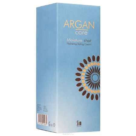 Купить SIM SENSITIVE Увлажняющий стайлинг крем Argan Care Moisture Shot Hidrating Styling Cream Мойсче Шот 150мл