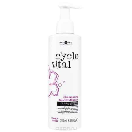 Купить Eugene Perma Shampooing Cycle Vital Boucles Douceur - Шампунь для вьющихся волос 250 мл