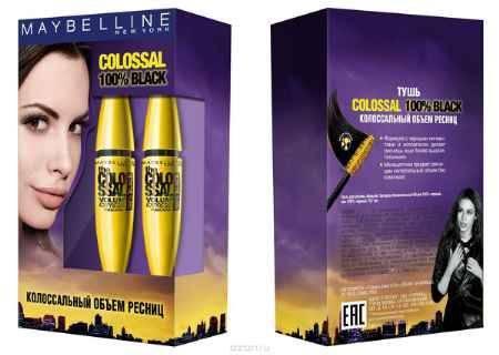 Купить Maybelline New York Подарочный набор 2 x Maybelline New York Тушь для ресниц